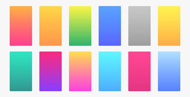 5 xu hướng màu Gradient sáng tạo ấn tượng