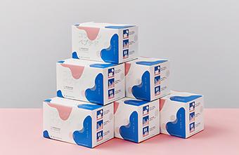 Mẫu bao bì sản phẩm collagen Nippi nữ tính