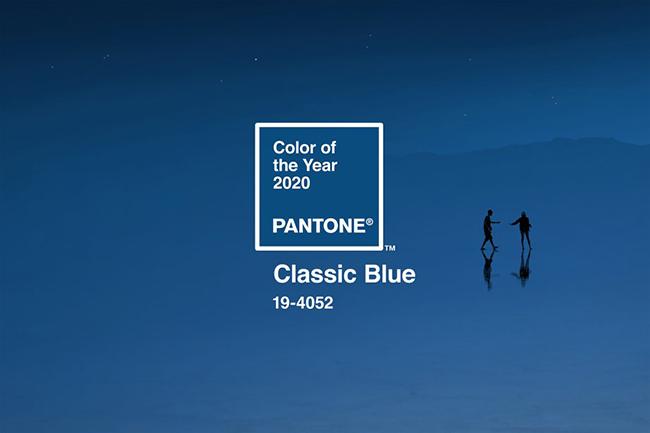 Tìm hiểu về màu xu hướng trong thiết kế đồ họa 2020 - Classic Blue