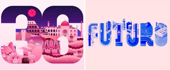 Bắt sóng cảm xúc với những ý tưởng typography sáng tạo