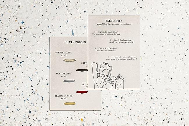 Bộ nhận diện thương hiệu vui nhộn của Pick & Cheese