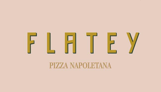 Cảm hứng từ thiết kế bộ nhận diện thương hiệu Pizza Flatey