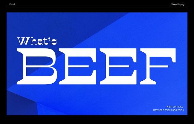 Kể chuyện qua thiết kế kiểu chữ với Chieu Display Typeface