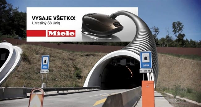 Những mẫu thiết kế quảng cáo ngoài trời khiến người đi đường phải ngoái nhìn