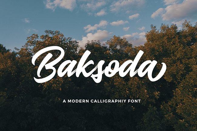 Giới thiệu font chữ Script mềm mại uyển chuyển