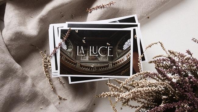 Mẫu thiết kế danh thiếp hoài cổ La Luce