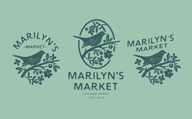 Những ý tưởng sử dụng hoa cỏ vào thiết kế logo