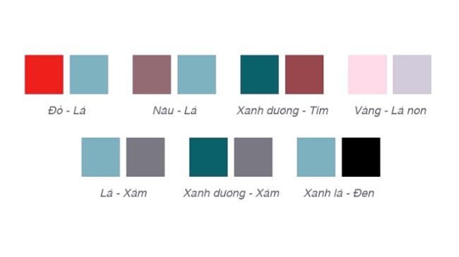 4 Quy tắc thiết kế đồ họa cho người tiêu dùng mù màu