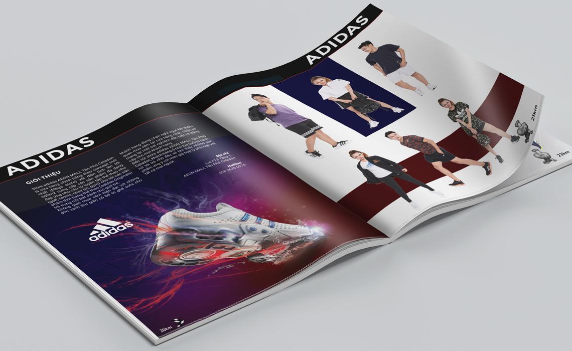 Thiết kế tạp chí SPORTIVE MALL Season 2