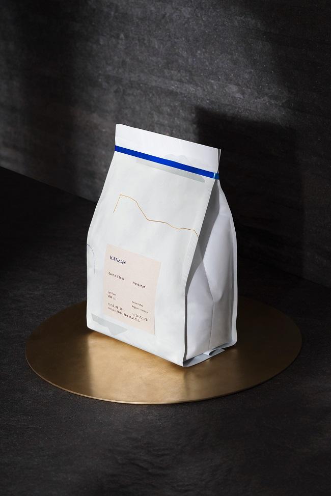 Mẫu thiết kế nhận diện thương hiệu cà phê đẹp