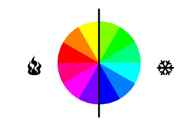 Nhiệt độ màu sắc trong thiết kế là gì?
