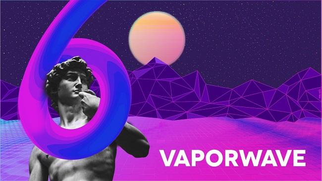 Phong cách Vaporwave, Memphis và Brutalism trong thiết kế đồ họa có gì đặc biệt?
