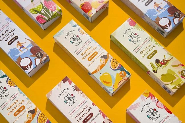 Top mẫu thiết kế bao bì thực phẩm ấn tượng