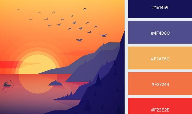Lợi ích của màu sắc đậm và tươi sáng trong thiết kế thương hiệu?