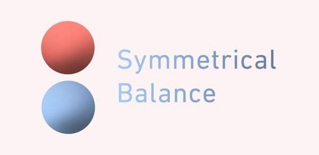 Có những loại cân bằng nào trong thiết kế hình ảnh thương hiệu?