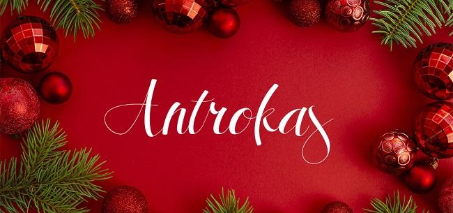 Top font chữ đẹp cho thiết kế quảng cáo dịp lễ cuối năm