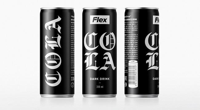 Bắt mắt với mẫu thiết kế bao bì Coca-Cola theo phong cách Gothic