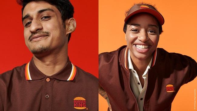 """Burger King thiết kế hệ thống nhận diện thương hiệu """"mới toanh"""""""