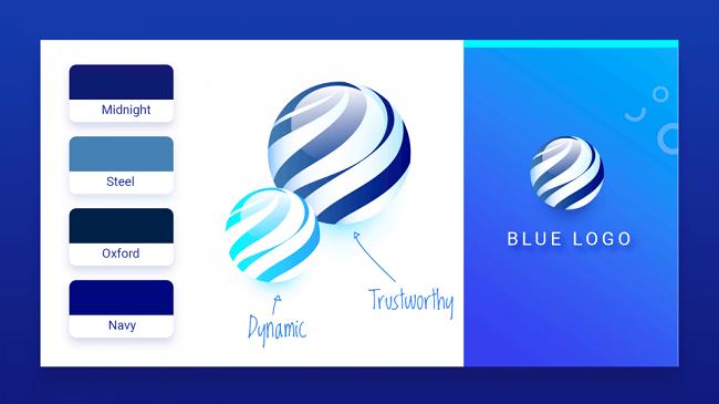 Gợi ý bảng màu thiết kế logo theo lĩnh vực