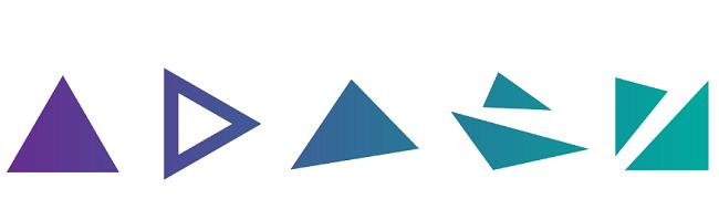 Hình dạng trong thiết kế trừu tượng