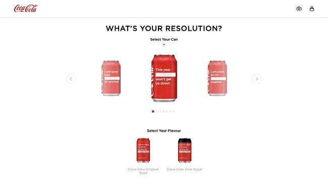 Thiết kế bao bì vỏ lon Coca-Cola đầy táo bạo