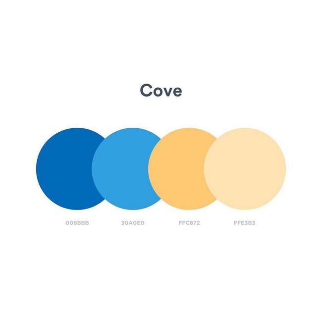 Color Palettes – Gợi ý bảng phối màu thiết kế thương hiệu ấn tượng