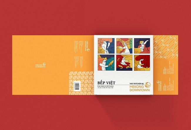 Mẫu thiết kế bao bì tăng nhận diện thương hiệu Mekong Downtown