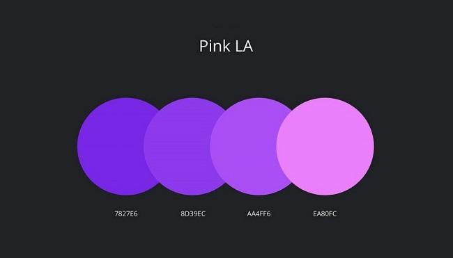 Những bảng phối màu thiết kế thương hiệu ấn tượng