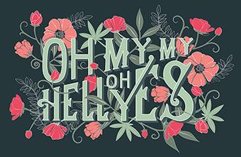 Top ý tưởng thiết kế typography sáng tạo tháng 3