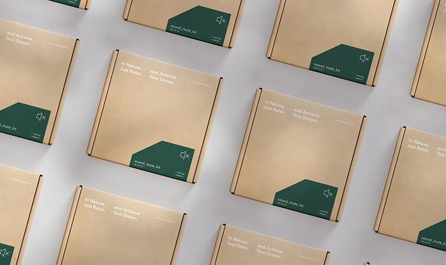 Cảm hứng thiên nhiên trong bộ nhận diện thương hiệu Green Study