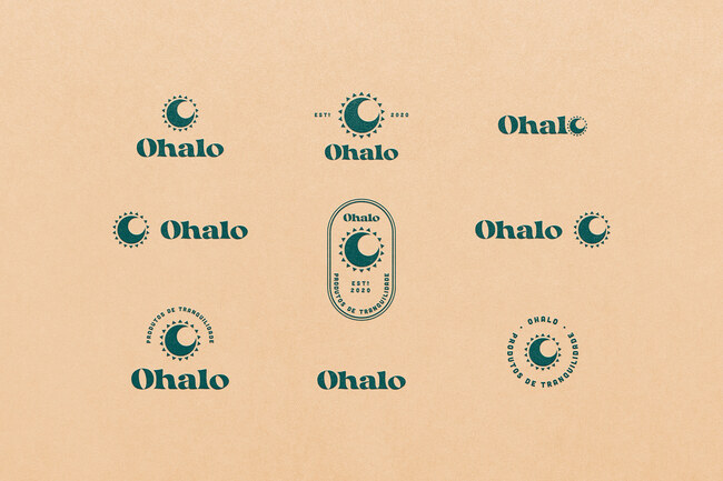 Mẫu thiết kế nhận diện thương hiệu tối giản