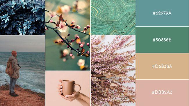 Top 5 bảng màu độc đáo cho thiết kế 2021