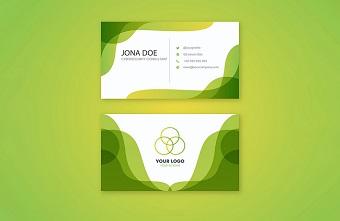 Thiết kế hình ảnh thương hiệu tự nhiên với màu vàng xanh