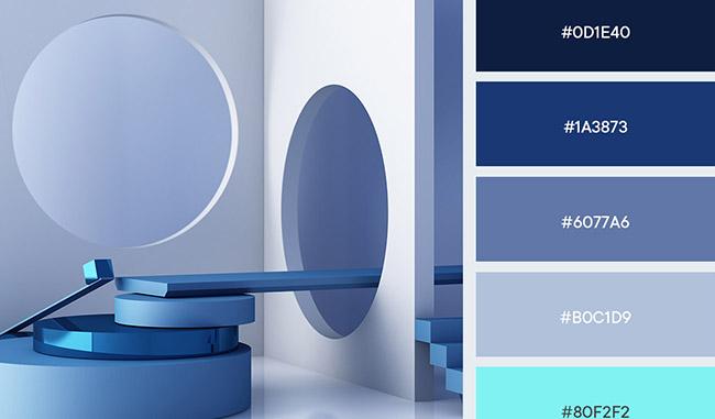 Bảng màu xu hướng trong thiết kế đồ hoạ 2021