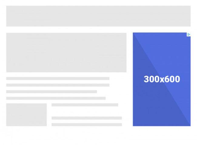 Các kích thước thiết kế quảng cáo phổ biến