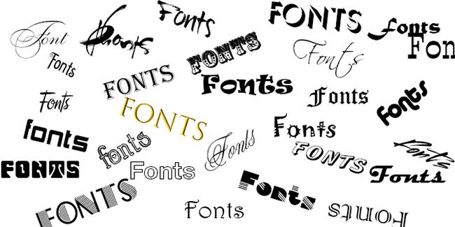 Top font chữ nhà thiết kế thương hiệu thường xuyên sử dụng
