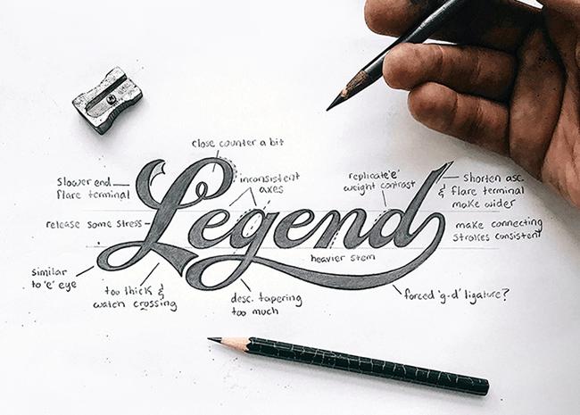 Calligraphy trong thiết kế hình ảnh thương hiệu