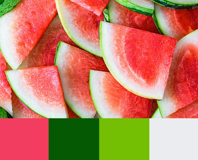 Gợi ý bảng màu tươi sáng cho thiết kế quảng cáo mùa hè