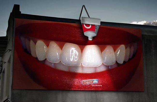 Những thiết kế quảng cáo khiến bạn phải bật cười
