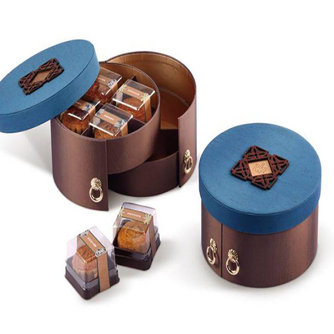 Khi thiết kế bao bì hộp bánh không chỉ hình chữ nhật