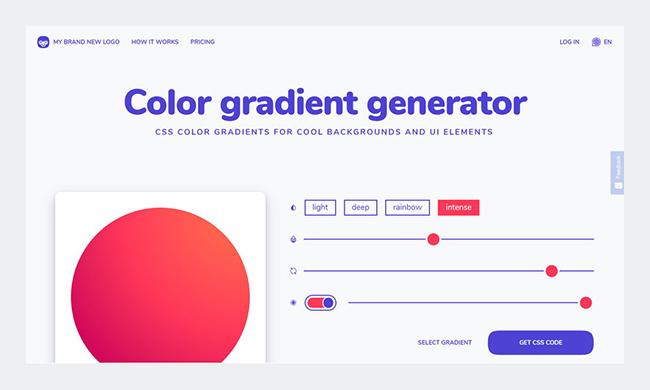 Top công cụ tạo bảng màu gradient cho thiết kế thương hiệu chuyên nghiệp