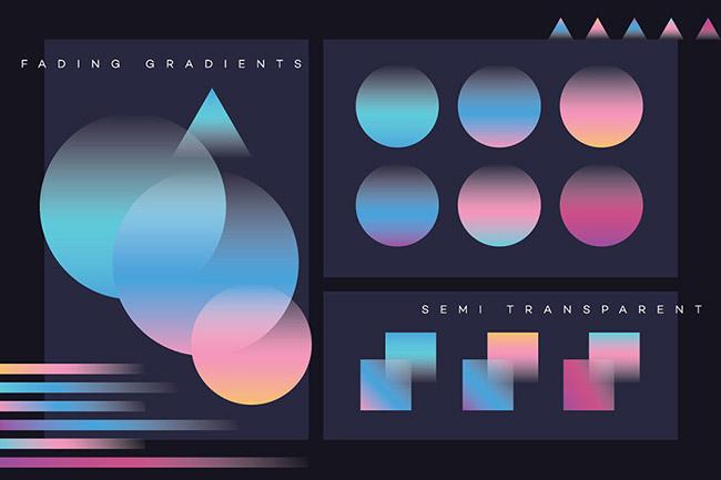 Xu hướng sử dụng gradient cho thiết kế hình ảnh thương hiệu khác biệt