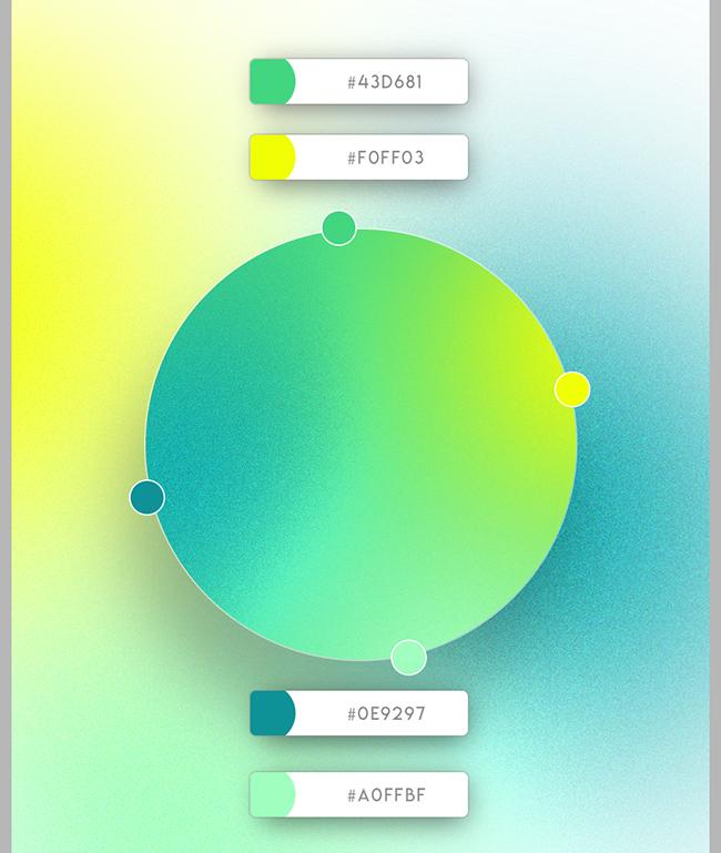 Hãy tạo nên ấn tượng phá cách hơn, sáng tạo hơn trong tâm trí khách hàng với hệ thống nhận diện được phối bảng màu gradient hiện đại. Những dải chuyển tiếp màu gradient ấn tượng, bắt mắt vẫn đang là xu hướng thiết kế nhận diện thương hiệu hàng đầu. Khi kết hợp với bảng màu tươi sáng, các hiệu ứng bắt mắt, bạn sẽ sở hữu ngay hệ thống nhận diện thương hiệu hiện đại, khác biệt, vô cùng đáng nhớ. Hãy cùng Lebrand khám phá những ý tưởng phối màu gradient đột phá ngay bây giờ.